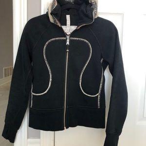 Lululemon Limited Edition Black Scuba Sweater